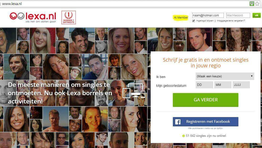 lexa dating site