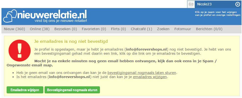NieuweRelatie, gratis datingsite, gratis nederlandse datingsite, gratis daten