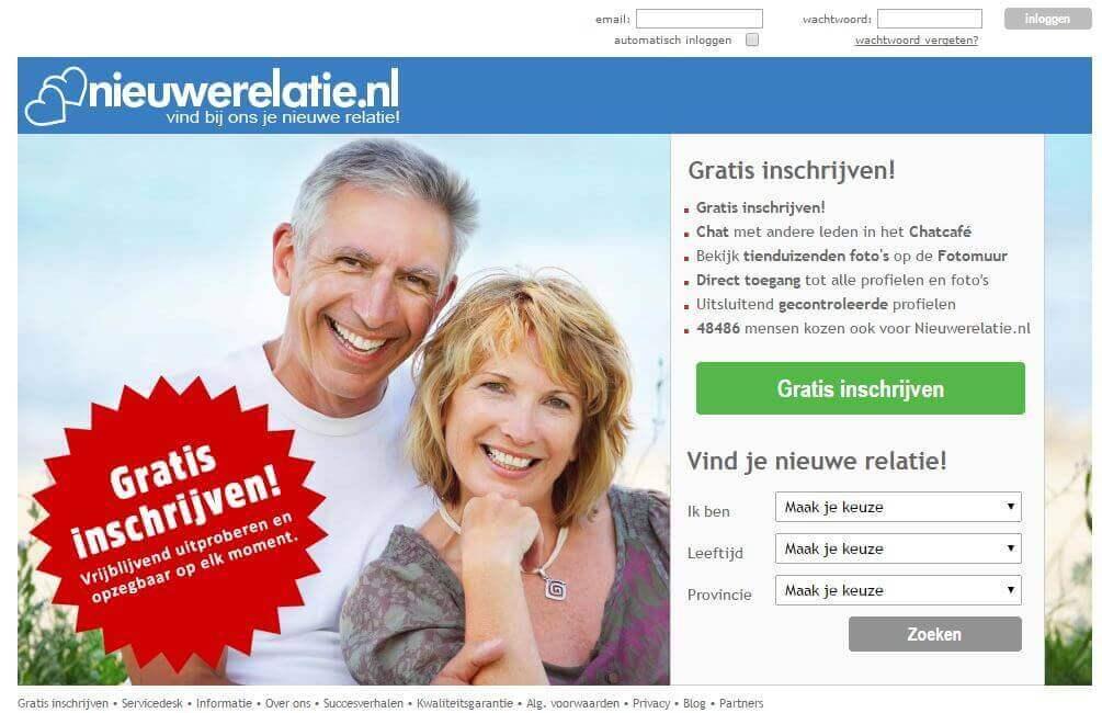 nieuwerelatie, datingsite nieuwerelatie, senioren datingsite, datingsite voor senioren