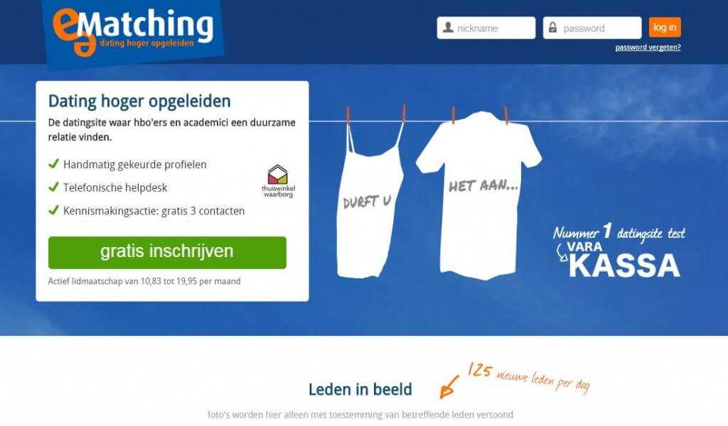 ematching, e-matching, datingsite e-matching, e-matching inloggen, e-matching opzeggen